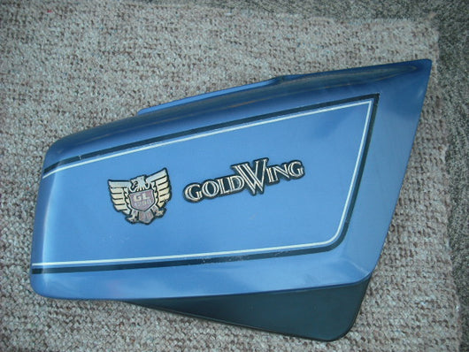Honda Gold Wing GL1200 Sidecover right blue 83600-MG9-0000 sku 1787
