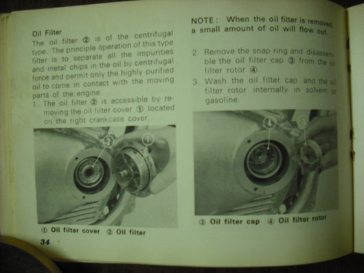 Honda SL350K1 Owners Manual