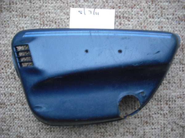 Honda CL175 1972 Left Sidecover Blue  sku 1915
