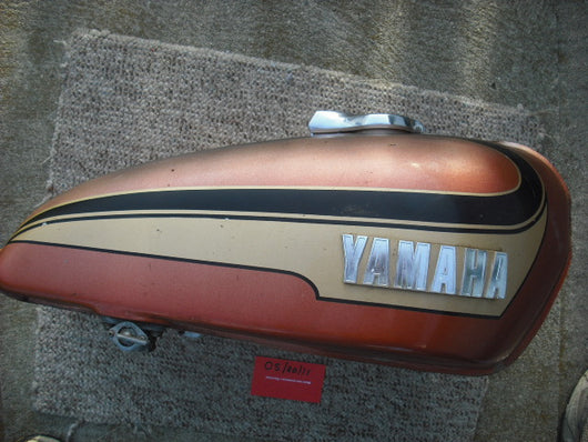 Yamaha TX500 Gas Tank with key sku 1927
