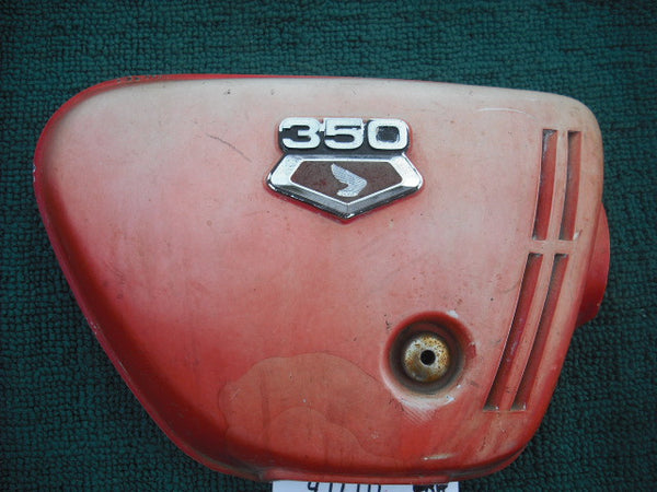 Honda CB350K3  Sidecover right red 1920