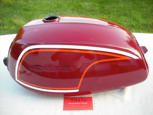 Honda CL175 1972 Magenta Red NOS Gas Tank