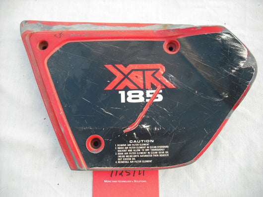 Honda XR185 1979 Left Sidecover sku 1971