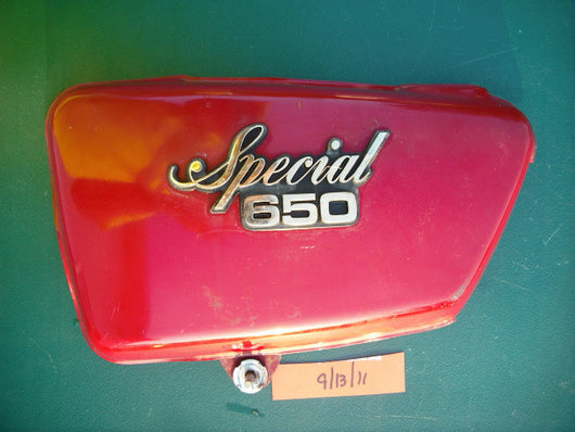 Yamaha XS6501979  Special left sidecover Red 1984