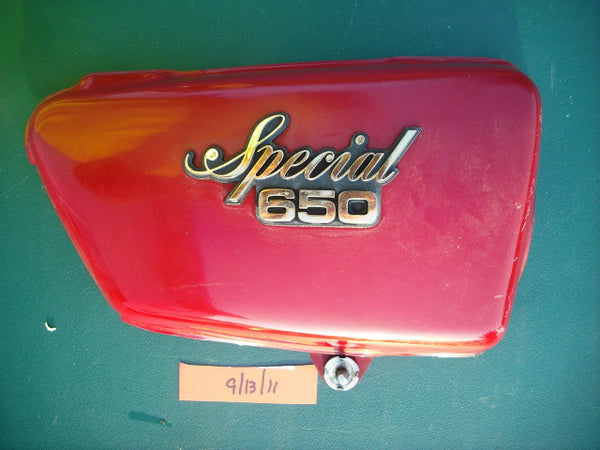 Yamaha XS6501979  Special right sidecover Red 1993