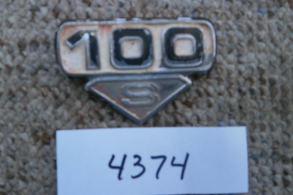 Honda CL100S Sidecover Badge 4374