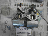 Sold Ebay 9/24/16Honda CL175 CB175 Carburetor pair 4434