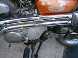 Honda CL175 1971 Stock Exhaust Complete Excellent Condition
