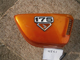 Sold on Ebay  Honda CB175K7 Orange LEFT  sidecover 4562