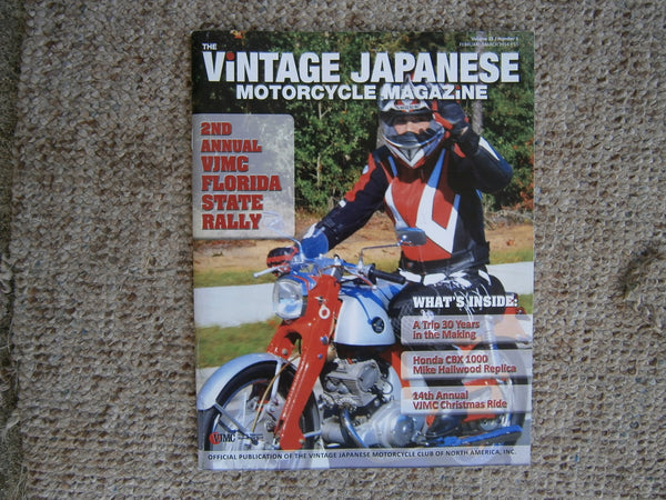 Honda CB92 Featured on the Cover of the VJMC Magazine 4605