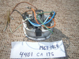 Honda SS125A, CL125A, CA175 Speedometer Wiring Complete 4454
