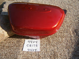 Honda CB175 1970-1971 NOS left red sidcover  4404
