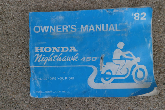 Honda CB450SC Owners Manual 4308