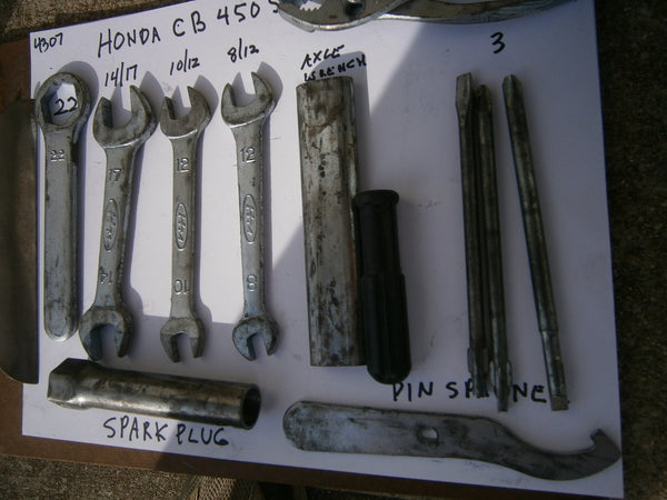 Honda CB450SC 82 Original Tool Kit 4307