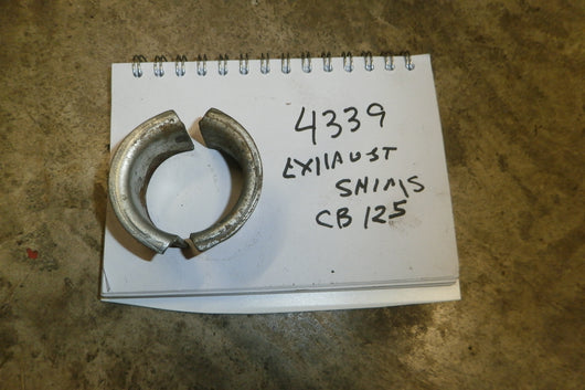 Honda CB125 Exhaust Shims 4349