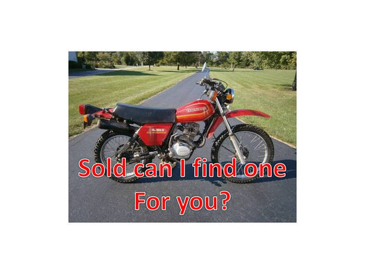Sold ! Honda XL185 1980 Street Legal Enduro with title