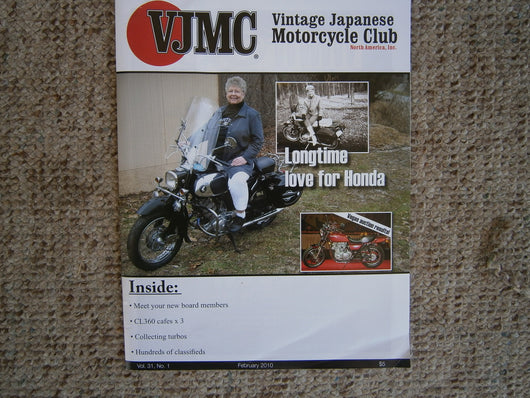 Honda CA77 Magazine Feature on VJMC Magazine 4607