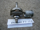 Kawasaki F7 175 cc piston, connecting rod, and crankshaft  main bearing 4400