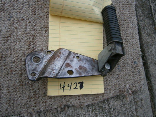 Honda CL175 1971 left   passenger footpeg  with mounting bracket 4427