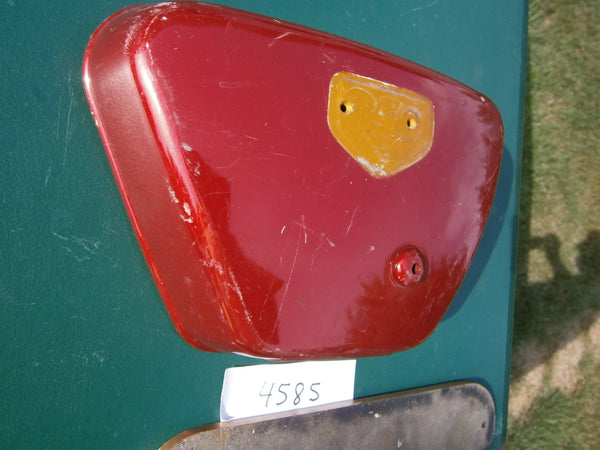 Honda CB350 CL350 Right Red Sidecover 4585