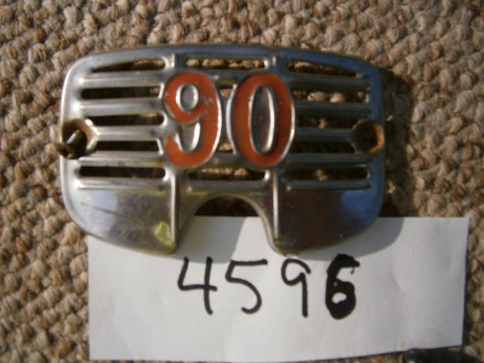 Honda 90 Front Badge 4596