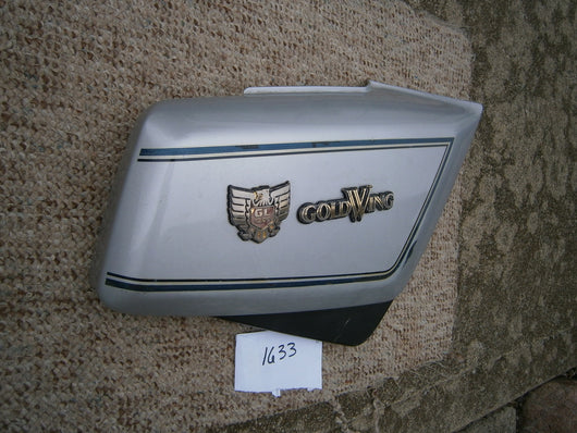Honda Gold Wing GL1200 Silver Right Sidecover 1633