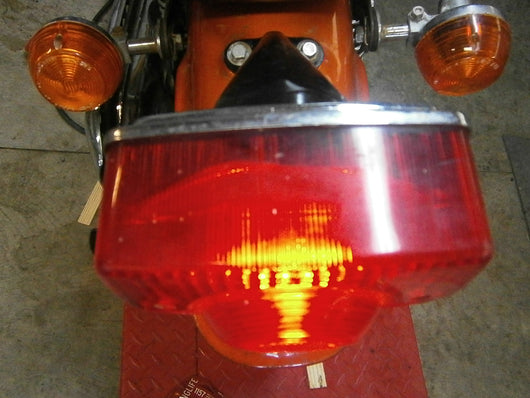 Honda CL175 1971 Tail Light complete with lens and bracket 4422