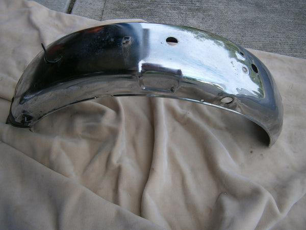 Suzuki TS185 Fender Chrome Rear  sku 4625