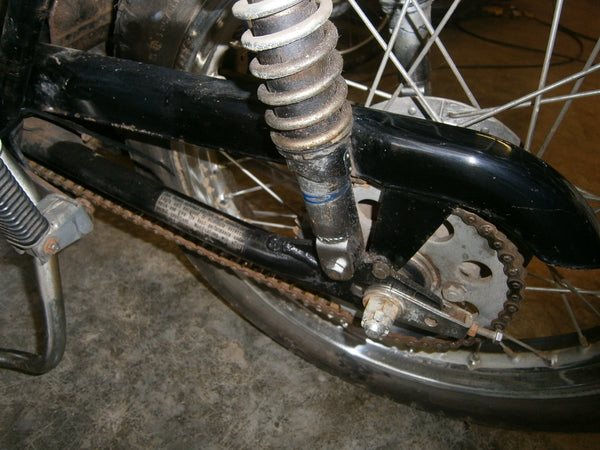 Honda CL175 1971 chain guard 4444