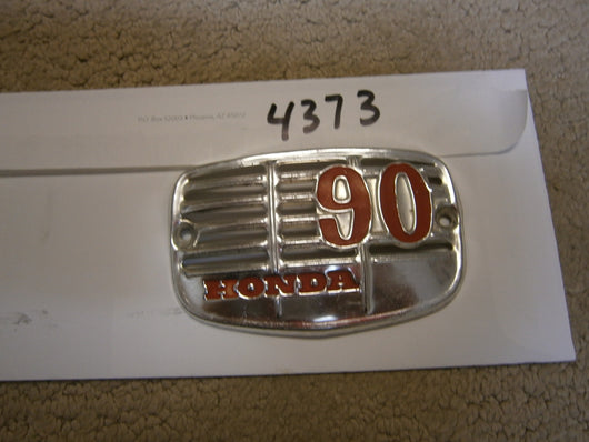 Honda 90 Headtube Badge#2 4373