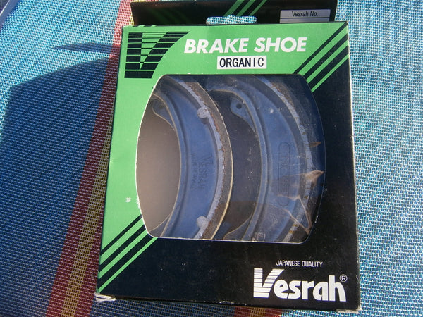Honda CB175 Honda CB200 Vesrah Organic Brake Shoes 4469