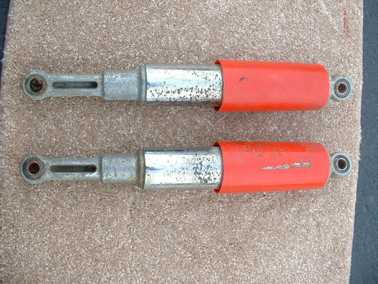 Honda Super 90, S90 Super 90 Shock Pair Orange 1218