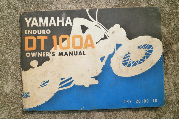 Yamaha DT100A 1974 Owners Manual  part 437-28199-104332