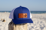 850 Leather Patch Snapback