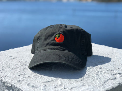 850 Orange Cotton Hat