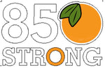 850 Strong Decal