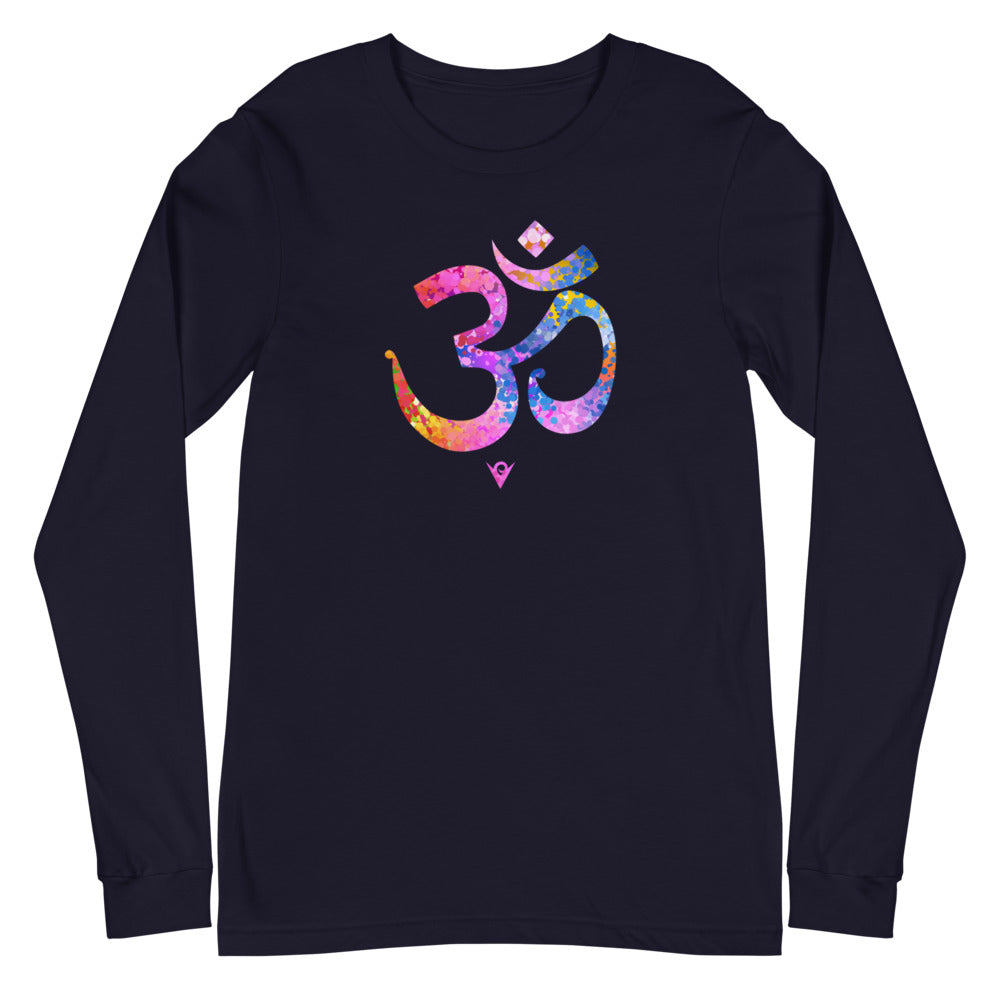 Om Picturesque (Unisex Long-sleeve Tee) Yoga Bliss