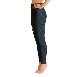 Happy Ganesh Chaturthi (Women's Yoga Pants) Yoga