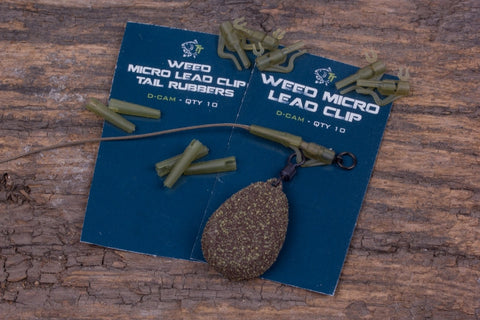 Nash Micro Weed Lead Clips