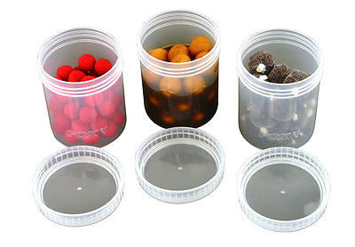 Fox Bait Tubs Full Size Clear x 6