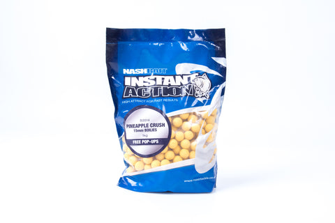 Nash Bait Instant Action Pineapple Crush Boilies