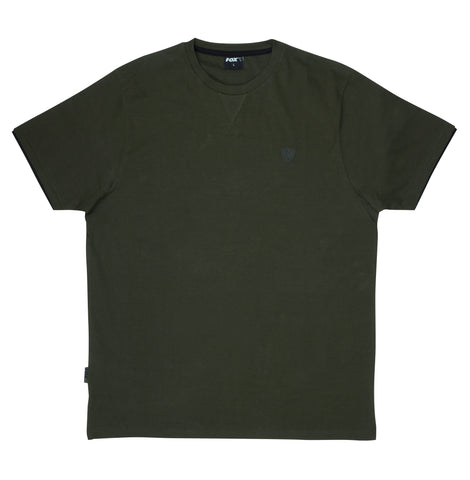 FOX Green and Black Brushed T-Shirt