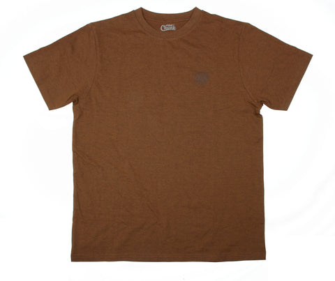 Fox Chunk Classic Collection T Shirt - Orange Marl
