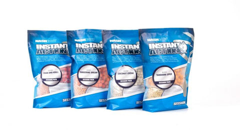 Nash Bait Instant Action Candy Nut Crush Session Packs