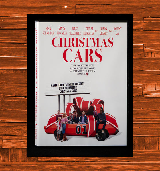 "John Schneider's ""Christmas Cars"" on DVD"