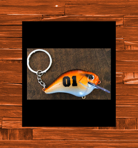 Tony's 01 Fishing Keychain