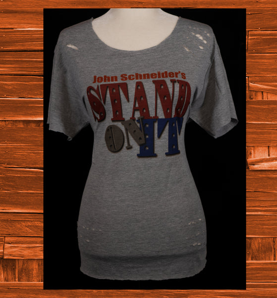"""Stand On It"" Retro Tee"