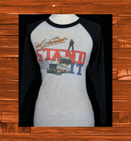 Stand On It baseball tee-shirt