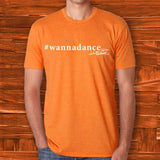 #wannadance Orange Tee - JohnSchneiderStudioStore