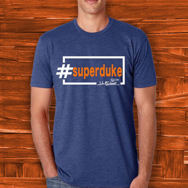 #superduke Blue Tee is my Dancing With The Stars go to shirt! - JohnSchneiderStudioStore
